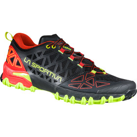 La Sportiva Bushido II Chaussures de trail Homme, black/goji